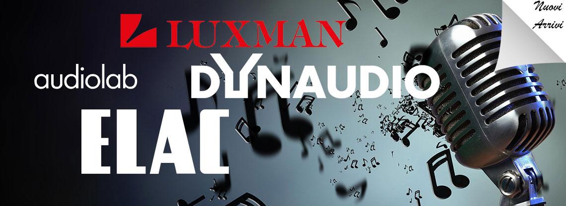 Audiolab, Elac e Luxman